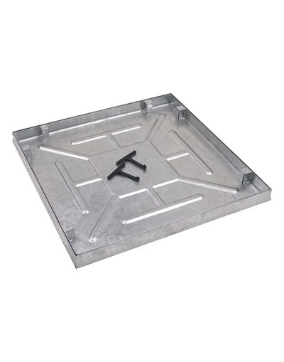 600 x 600mm Watertight Manhole Cover w/ 43.5mm Recessed Tray