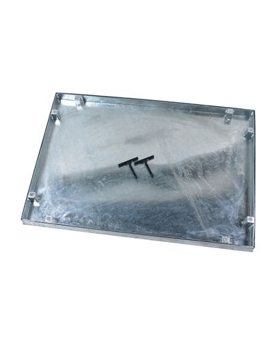 750 x 600mm Watertight Manhole Cover w/ 43.5mm Recessed Tray