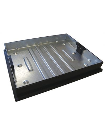 600 x 450mm Block Paving Manhole Cover w/ 80mm Recessed Tray