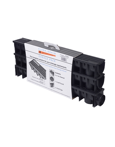 Polypropylene Channel Drain Garage Pack