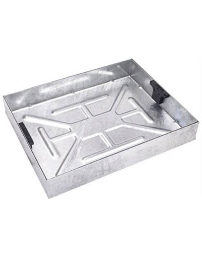 600 x 450mm Block Paving Manhole Cover w/ 100mm Recessed Tray