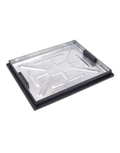 600 x 450mm Block Paving Manhole Cover w/ 43.5mm Recessed Tray