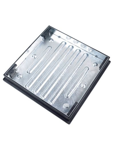 600 x 600mm Block Paving Manhole Cover w/ 80mm Recessed Tray
