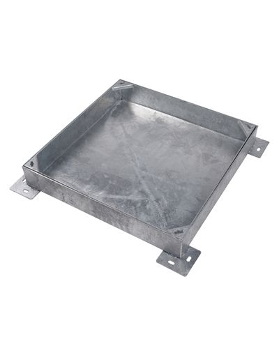 600 x 600mm Heavy Duty Block Paving Manhole Cover w/ 100mm Recessed Tray