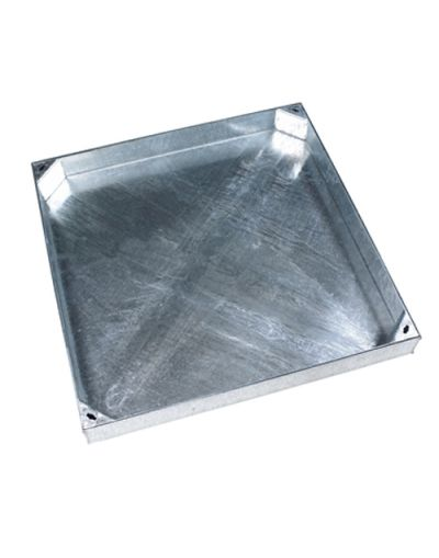 900 x 900mm Block Paving Manhole Cover w/ 100mm Recessed Tray