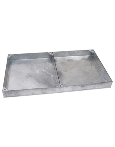 1200 x 600mm 2-Part Block Paving Manhole Cover w/ 100mm Recessed Tray