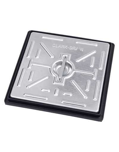 300 x 300 x 30mm Driveway Solid Top Drain Cover