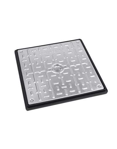 450 x 450 x 30mm Sealed Pedestrian Solid Top Drain Cover