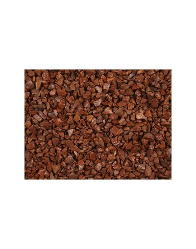 Red Granite 20mm Fill Material Gravel Chippings - Bulk Bag