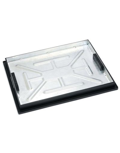 600 x 450mm Sealed Manhole Cover w/ 43.5mm Recessed Tray