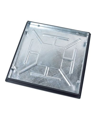 600 x 600mm Sealed Manhole Cover w/ 43.5mm Recessed Tray