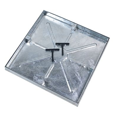 600 x 450mm Watertight Manhole Cover w/ 43.5mm Recessed Tray