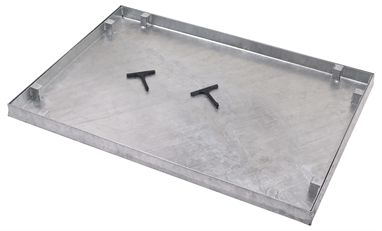 900 x 600mm Watertight Manhole Cover w/ 43.5mm Recessed Tray