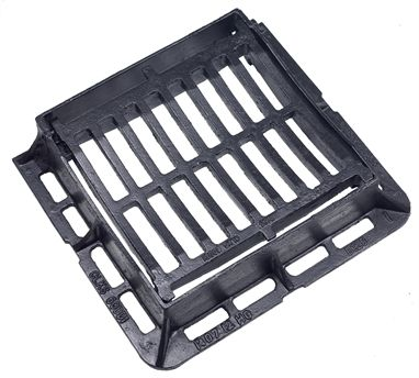 300 x 300 x 100mm Ductile Iron Dished Gully Grating