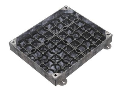 600 x 450mm EcoGrid Manhole Cover for Gravel w/ 100mm Recessed Tray