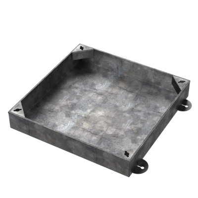 450 x 450mm Block Paving Manhole Cover w/ 100mm Recessed Tray
