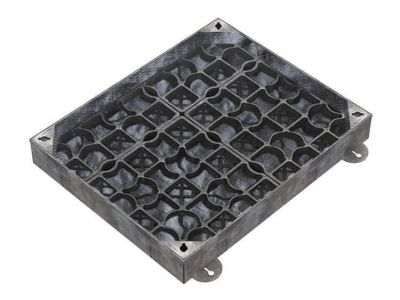 750 x 600mm EcoGrid Manhole Cover for Gravel w/ 100mm Recessed Tray