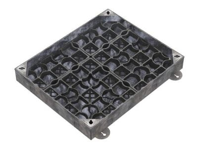 900 x 600mm EcoGrid Manhole Cover for Gravel w/ 100mm Recessed Tray