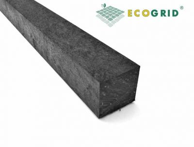 EcoGrid Black Plastic Lumber Plastic Wood 60 x 60 x 3100mm - Pack of 10 - Price Upon Application