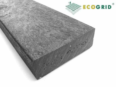 EcoGrid Black Plastic Lumber Plastic Wood 150 x 30 x 500mm - Pack of 10 - Price Upon Application