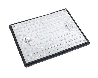600 x 450 x 30mm Sealed Pedestrian Solid Top Drain Cover