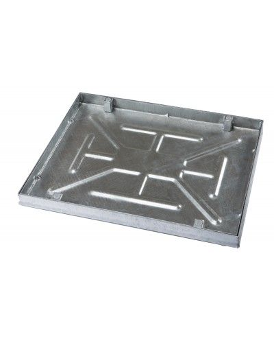 750 x 600mm Sealed Manhole Cover w/ 43.5mm Recessed Tray
