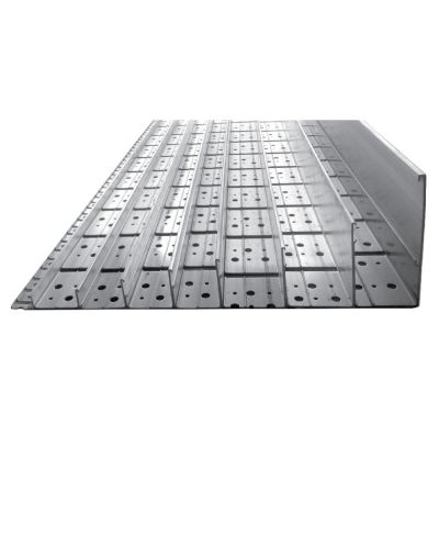 Ecogrid Aluflex Aluminium edging system, 64mm version: 10 metre length