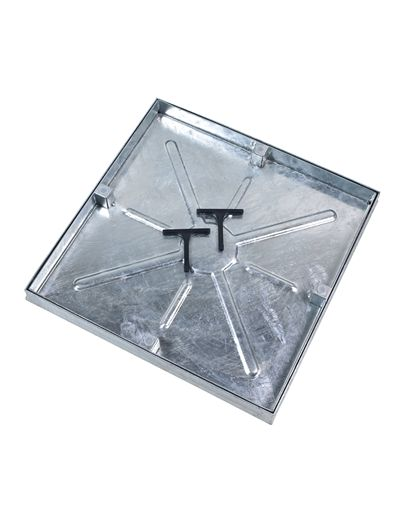 450 x 450mm Watertight Manhole Cover w/ 43.5mm Recessed Tray