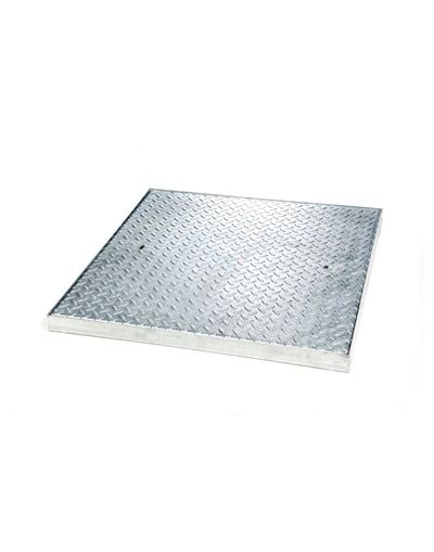600 x 600 x 50mm Heavy Commercial Solid Top Steel Drain Cover