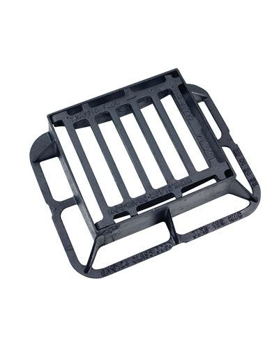 340 x 305 x 100mm Ductile Iron End Hinged Gully Grating