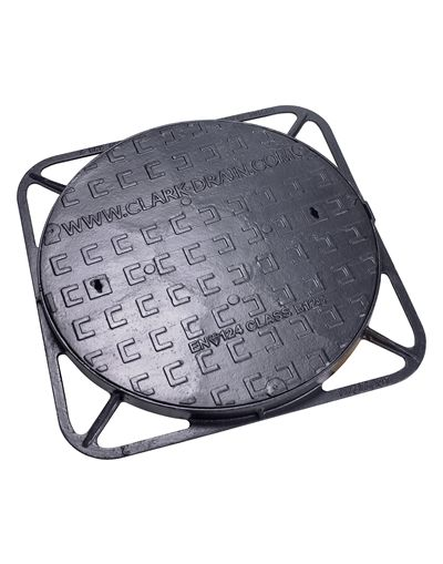 600mm Diameter x 60mm Ductile Iron Manhole Cover