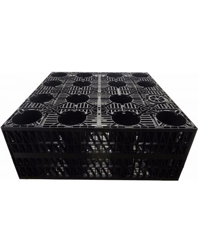 Ecogrid Crate system for infiltration, SuDS and attenuation. 18 crates / 7200L
