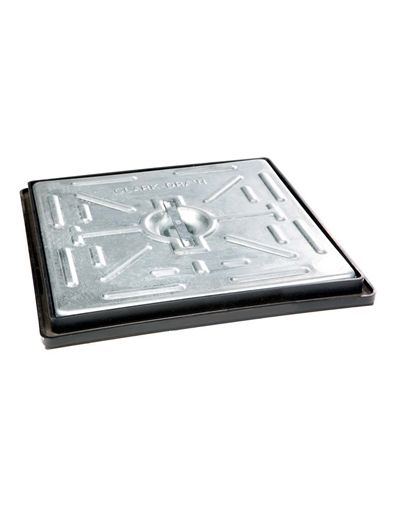 300 x 300 x 30mm Light Traffic Solid Top Drain Cover