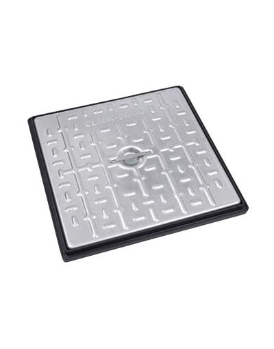 450 x 450 x 30mm Driveway Solid Top Drain Cover