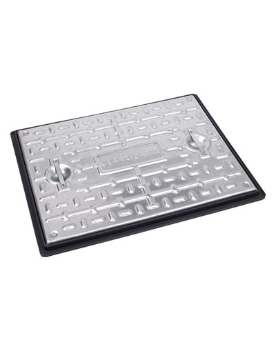600 x 450 x 30mm Sealed Driveway Solid Top Drain Cover