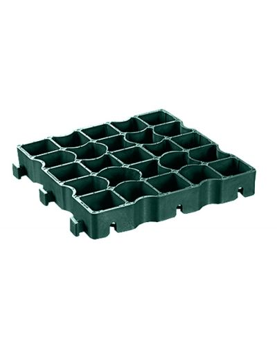 Ecogrid Ecoraster S50 Green Permeable Paving Grid - 1 Pallet (57.19sqm)